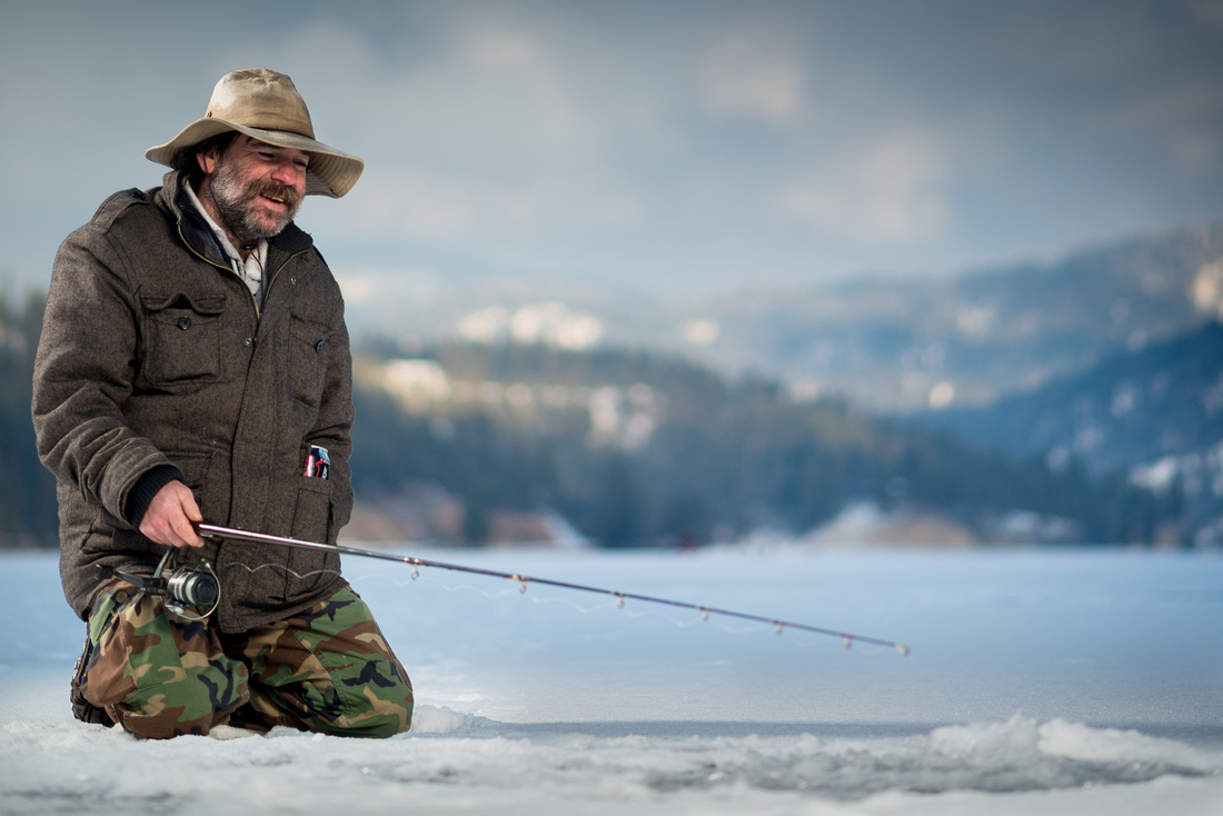 Todd the Ice Fisher